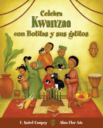 Cover Celebra Kwanzaa con Botitas y sus gatitos
