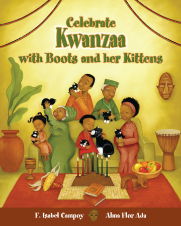 Cover Celebrate Kwanzaa with Boots and Her Kittens