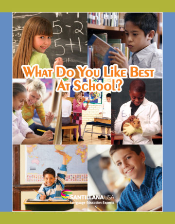 Cover What Do You Like Best at School?
