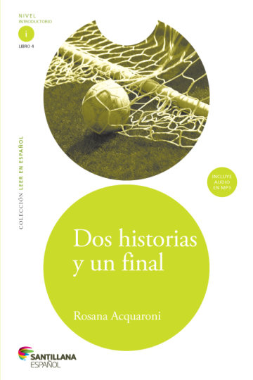 Cover Dos historias y un final (Libro + CD)