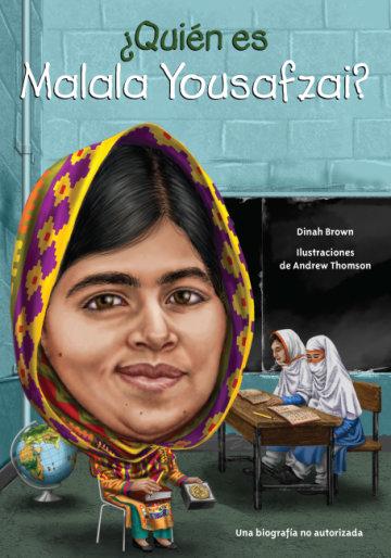 Cover ¿Quién es Malala Yousafzai?