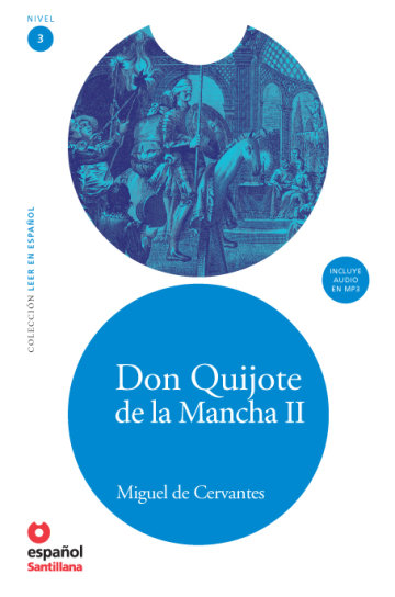 Cover Don Quijote de la Mancha II (Libro + CD)
