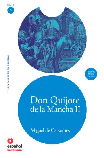 Cover Don Quijote de la Mancha II (Libro + CD)