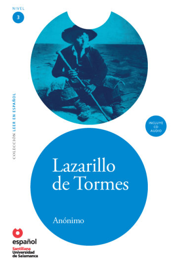 Cover Lazarillo de Tormes (Libro + CD)