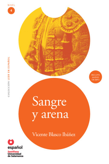 Cover Sangre y arena (Libro + CD)