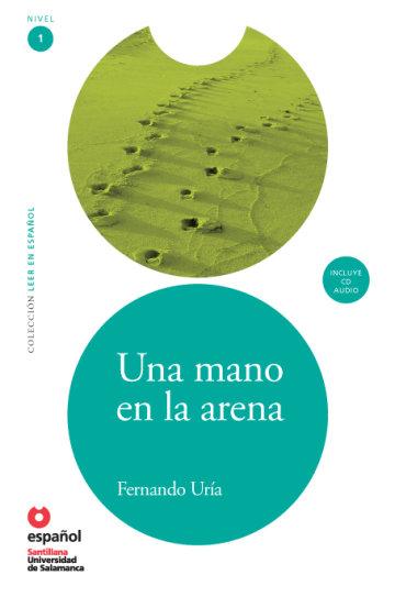 Cover Una mano en la arena (Libro + CD)