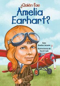 Cover ¿Quién fue Amelia Earhart?