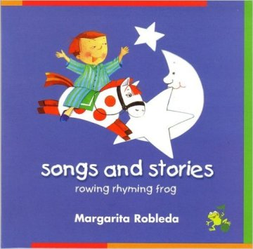 Cover Rowing Rhyming Frog Audio (CD)