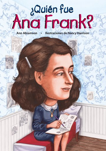 Cover ¿Quién fue Ana Frank?