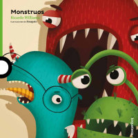 Cover Monstruos (Libro + CD)