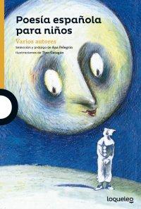 Cover Poesía española para niños