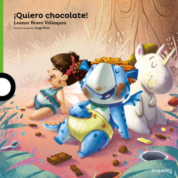 Cover ¡Quiero chocolate!