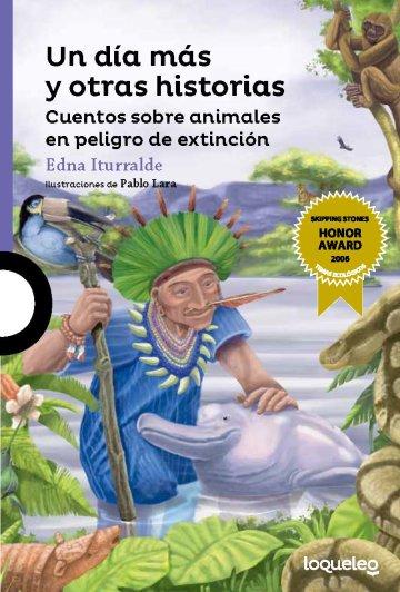 Cover Un día más y otras historias: Cuentos sobre animales en peligro de extinción