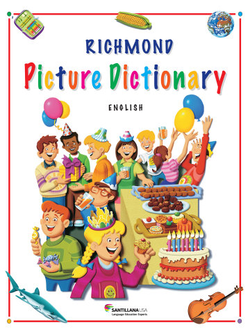 Cover Richmond Picture Dictionary (English)
