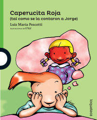 Cover Caperucita Roja (tal como se la contaron a Jorge)