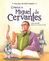 Cover Conoce a Miguel de Cervantes