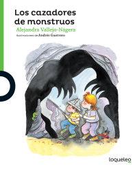 Cover Los cazadores de monstruos
