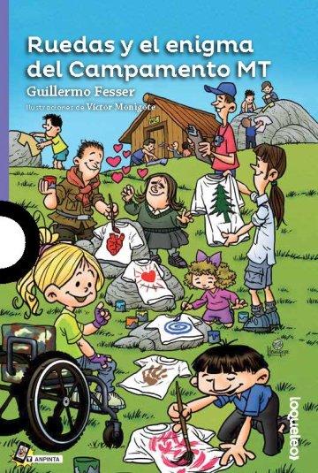 Cover Ruedas y el enigma del Campamento MT