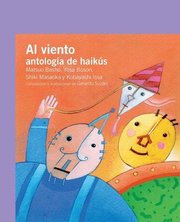 Cover Al viento: antología de haikús