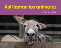 Cover Así llaman los animales