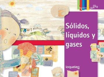 Cover Sólidos, líquidos y gases