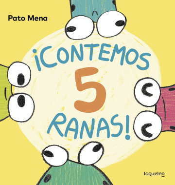 Cover ¡Contemos 5 ranas!