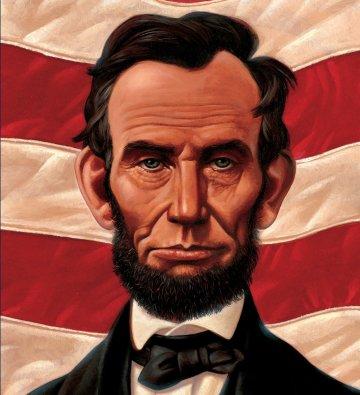 Cover Las honestas palabras de Abraham: la vida de Abraham Lincoln