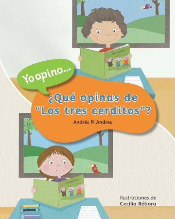 """Cover ¿Qué opinas de """"Los tres cerditos""""?"""