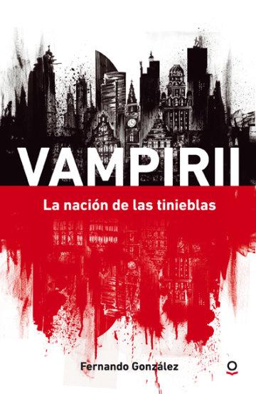 Portada Vampirii. La nación de las tinieblas