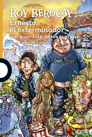 Portada  Ernesto el exterminador y el guardián de los sueños