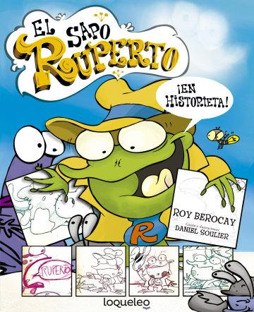 Portada El sapo Ruperto ¡en historieta!
