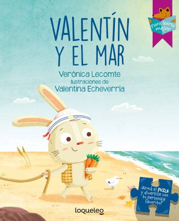 Portada Valentín y el mar            *Edición especial con puzle*
