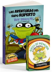 Portada Aventuras del sapo Ruperto Edición especial 30 años